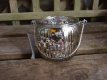 Silver tealight holder