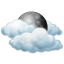 Sunday: Mostly cloudy